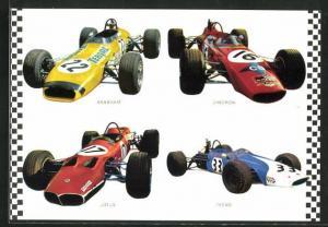 AK Rennautos von Lotus, Brabham und Chevron