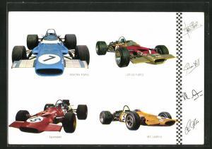 AK Rennautos von Matra Ford, Lotus Ford und Ferrari