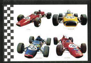 AK Rennautos von Chevron, Titan und Brabham