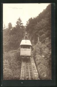 AK Bergbahn / Funiculaire Territet-Glion