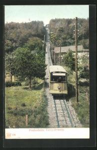 AK Funiculaire Vevey-Pelerin, Bergbahn