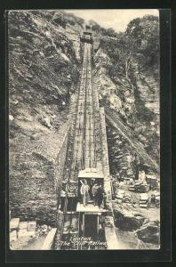 AK Lynton, Teh Cliff Railway, Bergbahn