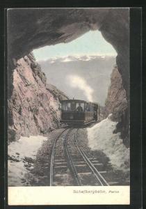 AK Partie der Schafbergbahn, Bergbahn