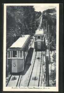 AK Scambio Funicolare Como-Brunate, Bergbahn
