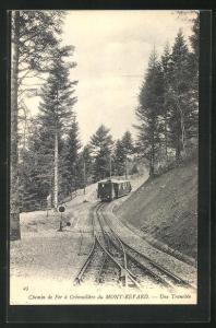 AK Mont-Revard, Chemin de Fer a Cremaillere du Mont-Revard, Bergbahn