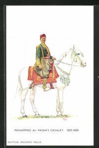 Künstler-AK London, International Horse Show 1934, Olympia, Mohammed Ali Pasha`s Cavalry