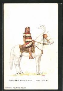 Künstler-AK London, International Horse Show 1934, Olympia, Pharoah`s Body-Guard