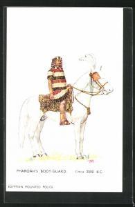 Künstler-AK London, International Horse Show 1910, Olympia, Pharoah`s Body-Guard, Pferdeschau
