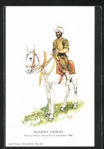 Künstler-AK London, International Horse Show 1934, Olympia, Saladin`s Cavalry