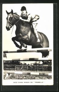 AK Miss Diana Mason on Tramella, Pferdesport