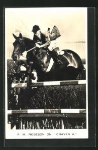 AK P.M. Robeson on Craven A., Pferdesport