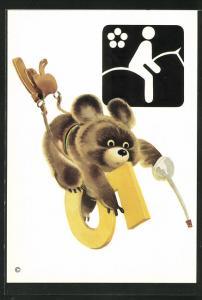 AK Moskau, Olympische Spiele 1980, Maskottchen beim Reitsport