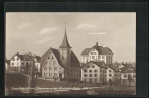 AK Tann-Rüti, Vereinshaus der Medodistenkirche, Primarschulhaus