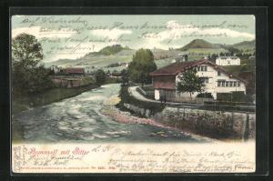 AK Appenzell, Gesamtansicht mit Sitter