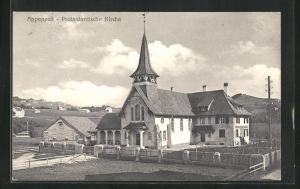 AK Appenzell, An der Protestantischen Kirche