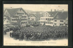 AK Appenzell, Landsgemeinde, Der Eidschwur