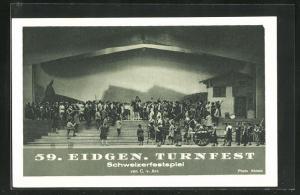 AK Luzern, 59. Eidgenössisches Turnfest, Schweizerfestspiel