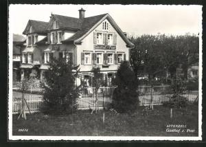 AK Appenzell, Gasthof zur Post