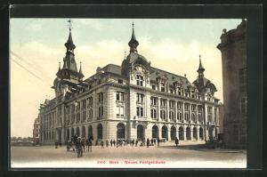 AK Bern, Neues Postgebäude