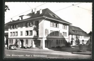 AK Binningen, Post und Gemeindehaus