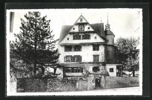 AK Appenzell, Vor dem Schloss Appenzell