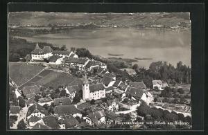 AK Erlach am Bielersee, Fliegeraufnahme