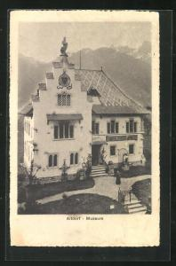 AK Altdorf, Totalansicht des Museums