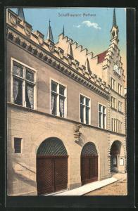 AK Schaffhausen, Partie am Rathaus