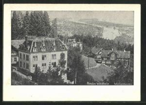 AK Walzenhausen, Hotel-Pension Waldheim