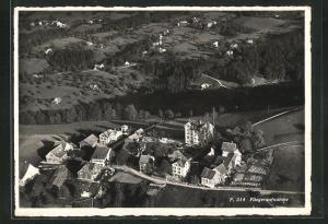 AK Wienacht, Fliegeraufnahme vom Dorf