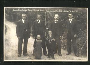 AK Sulzbach-Oberegg, Liliputaner-Geschwister Seppetoni und Katharina