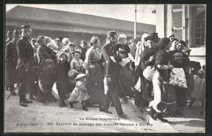 AK Geneve, Französische Flüchtlinge in der Stadt