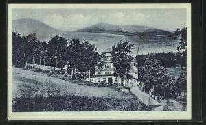 AK Brückenberg, Hotel zum Weissen Rössel