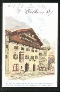 AK Kufstein, Gasthof Weinhaus Auracher Löchl