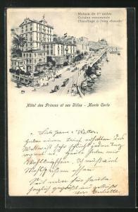 AK Monte Carlo, Hotel des Princes et ses Villas