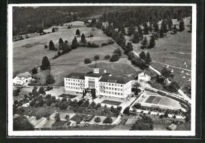 AK Schaan, Institut St. Elisabeth, Fliegeraufnahme