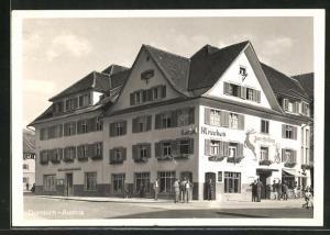 AK Dornbirn, Hotel zum Hirschen