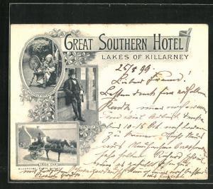 AK Killarney, Great Southern Hotel, Lakes of Killarney