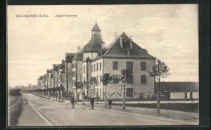 AK Mülhausen / O.-Els, Jäger-Kaserne