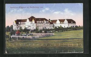 AK Greiffenberg i. Schl., Sanatorium Birkenhof
