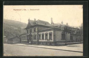 AK Markirch i. Els., Badeanstalt