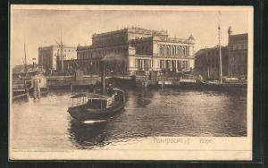 AK Königsberg, Börse und Hafen
