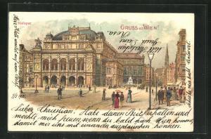 Lithographie Wien, Hofoper
