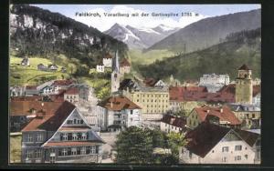 AK Feldkirch, Vorarlberg mit der Gurtisspitze