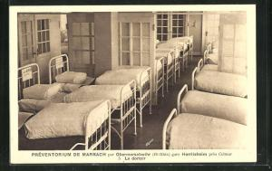 AK Marbach, Préventorium, Le dortoir, Schlafsaal