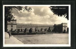 AK Posen / Poznan, Ansicht der Universität