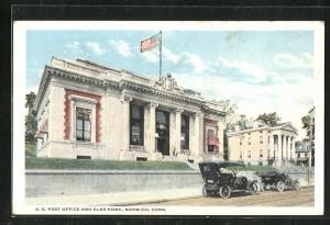 AK Norwich, Conn., U. S. Post Office and Elks Home