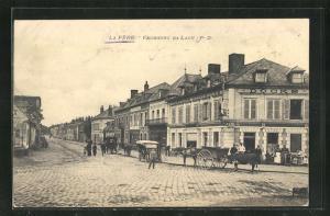 AK La Fére, Faubourg de Laon