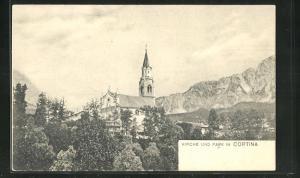 AK Cortina, Kirche & Park