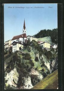 AK Pieve di Livinallongo / Buchenstein, Teilansicht mit Kirche
